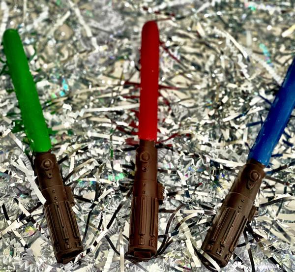 Star Wars Chocolate Lightsabers   $9.00