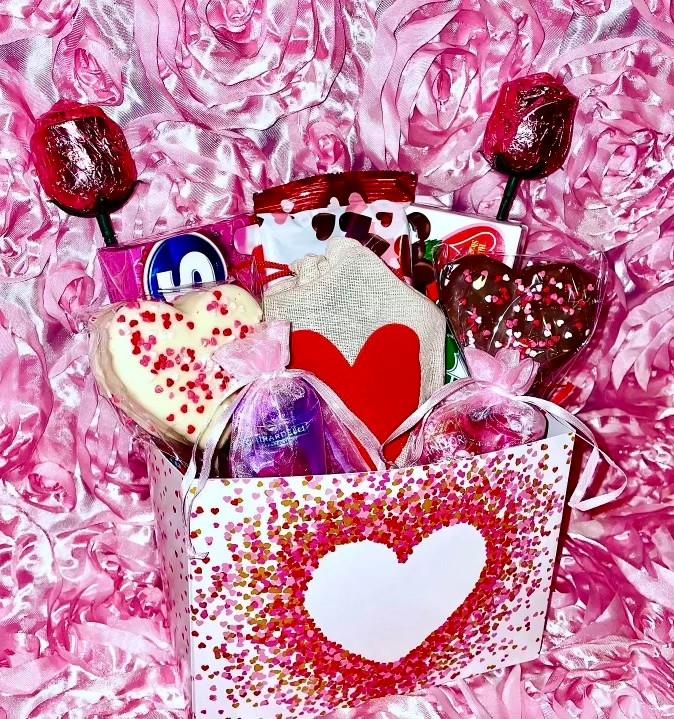 Valentine's Candy Basket | $35