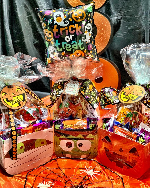Halloween Candy Baskets | $30