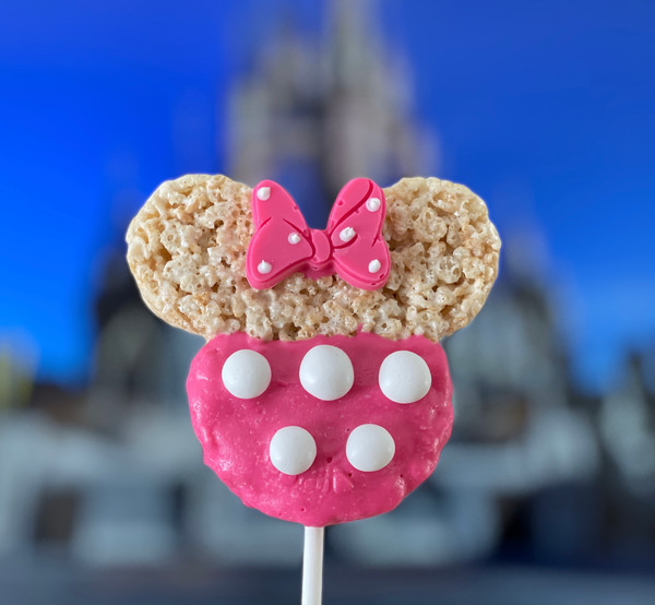 Minnie Mouse Rice Krispies Treats (white buttons)   $24.99