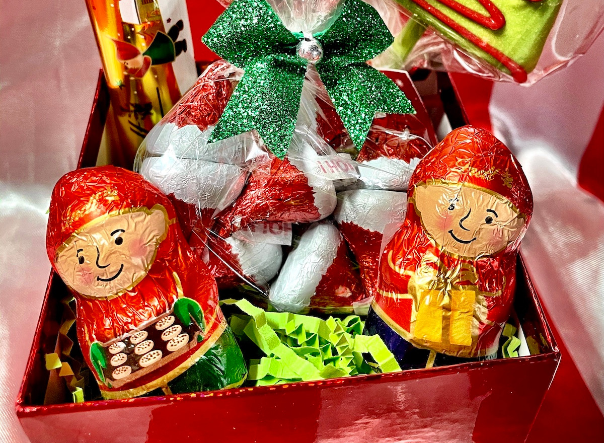 You've Been Elfed Candy Basket | $15