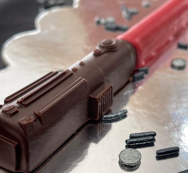 Star Wars Chocolate Lightsabers   $18