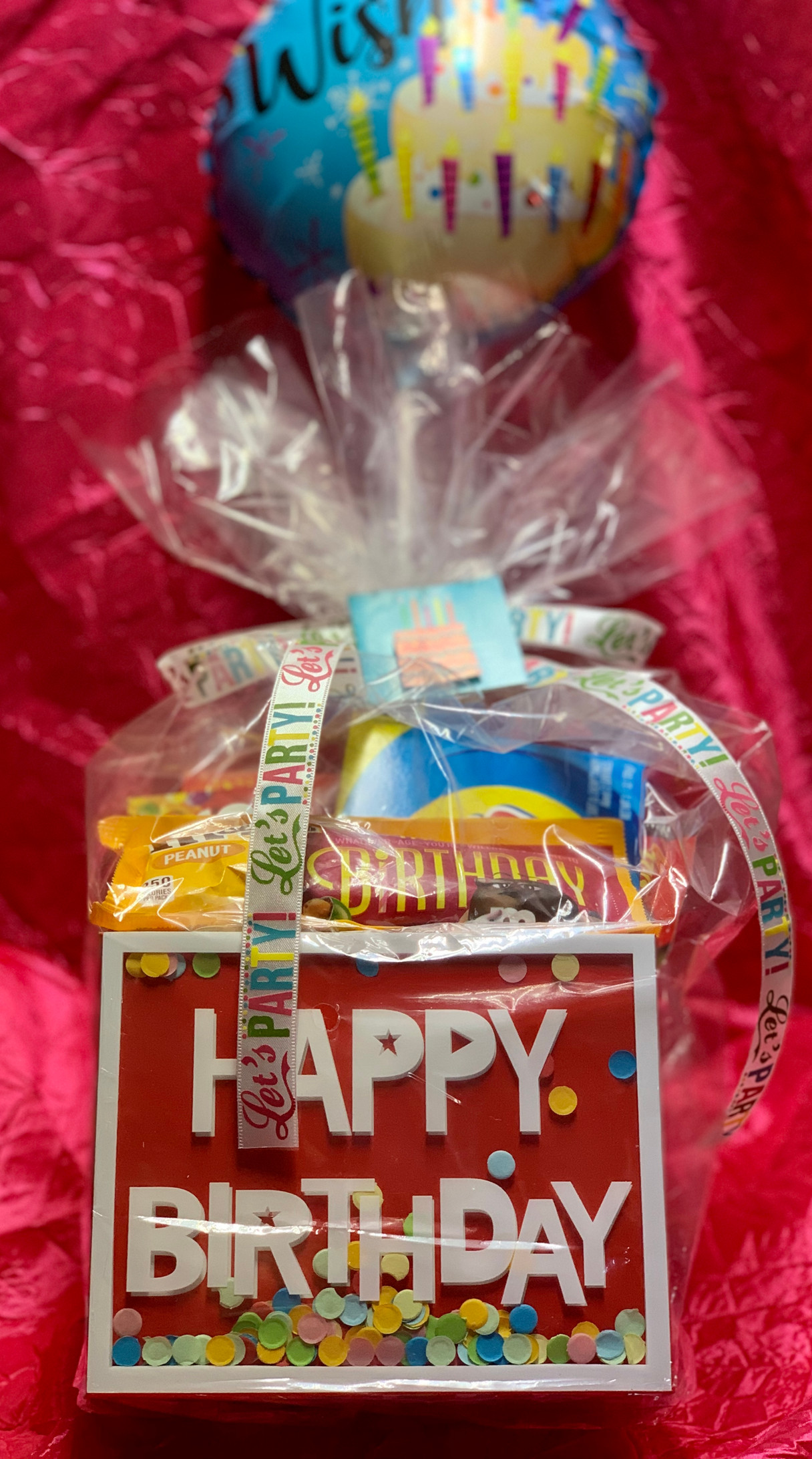 Birthday Candy Box   $30