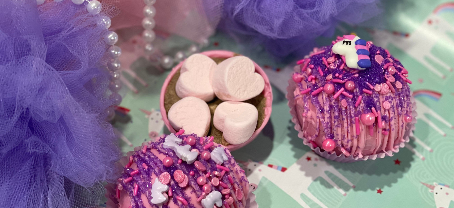 Unicorn Cocoa Bombs [Box of 3] | $25