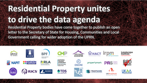 The RED Foundation joins other residential property bodies to encourage the use of the UPRN