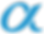 Alpha logo turqoise.png