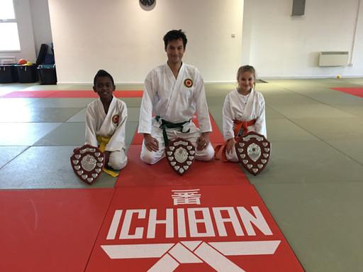 Karate Shield winners