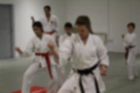 Kylie Teaching Karate Leeds Ichiban.jpg