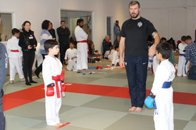 In house karate competition
