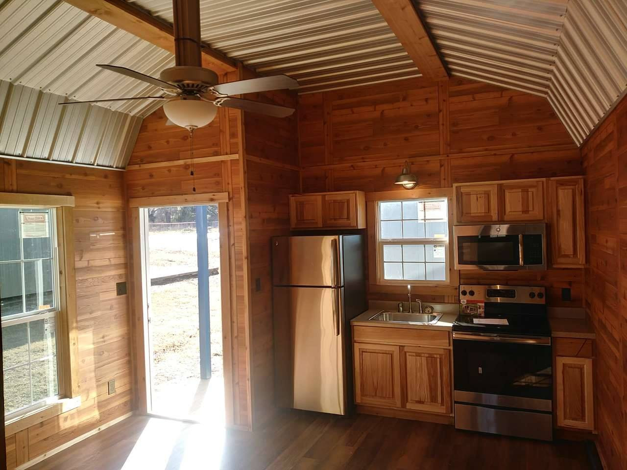 Living/kitchen from bedroom