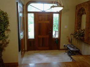 Interior Front Entrance Door