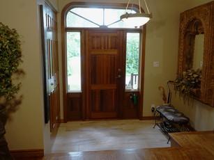 Interior Front Entrance Door
