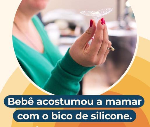 Bebê só mama com bico de silicone? Confira 6 dicas para reverter essa situação!