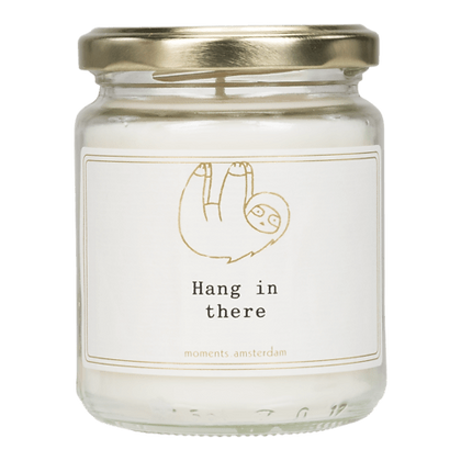 """""""Hang In There"""" Scented Candles"""