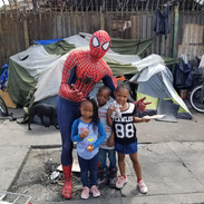 A Future Superhero And Friends