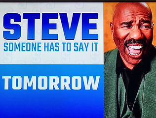 As seen On the Steve Harvey Show