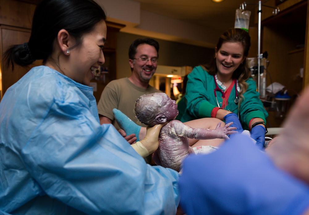 Avista Hospital Birth Photography Louisville, Colorado
