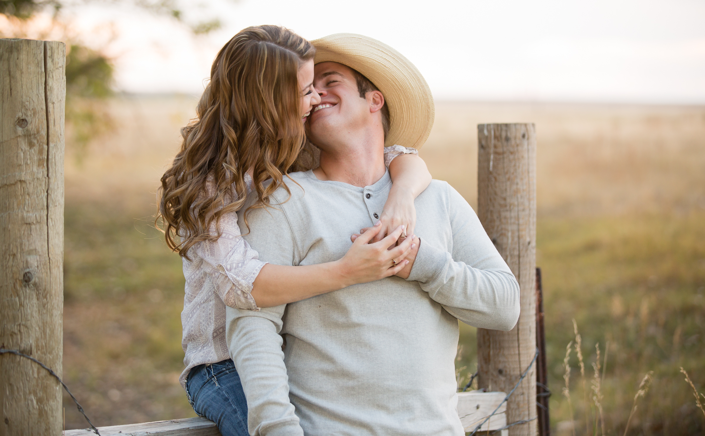Ranch Engagement Photographer