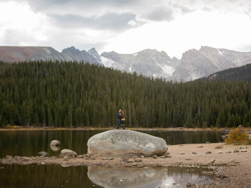 Brainard Lake Anniversary Session