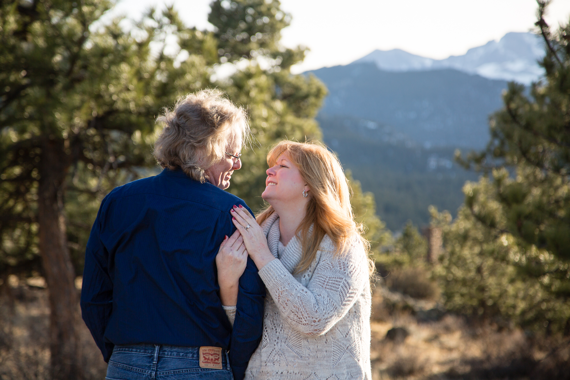 Rocky Mountain Estes Park Engagement
