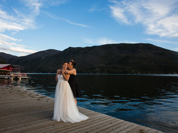Grand Lake, Colorado Elopement Jenny & Melissa (Point Park)