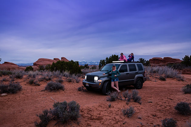 Moab, Jeep, Girls Trip