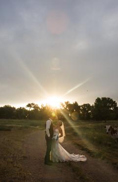 Platte River Fort wedding