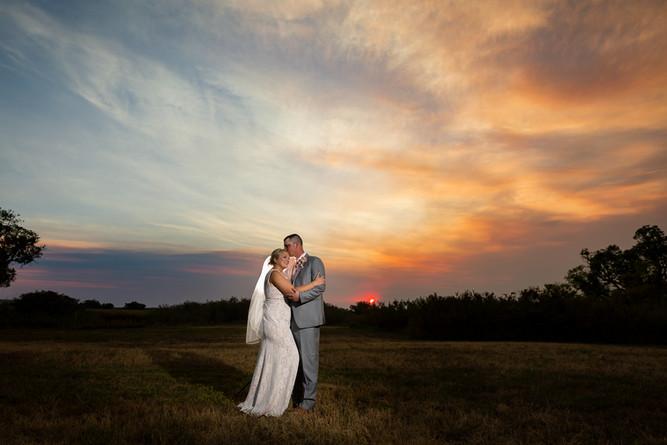 Wyoming Hereford Ranch Wedding Fall