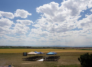 Ross and Elisa's Country Wedding in Keenesburg Colorado