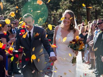 Della Terra Fall Wedding in Estes Park Colorado. Colorado Wedding Photographer