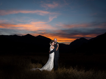 Matthew & Eve's Estes Park, Colorado Wedding at Our Lady of The Mountains Catholic Church an