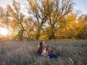 Johnson Family Fall Session, Longmont Colorado