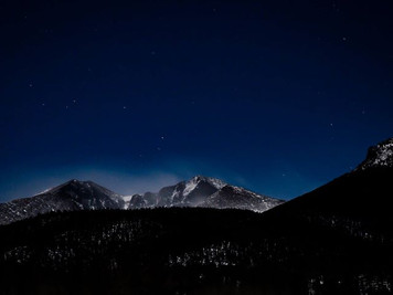 Full Moon Snowshoe Hike in Rocky Mountain National Park, Adventure Colorado