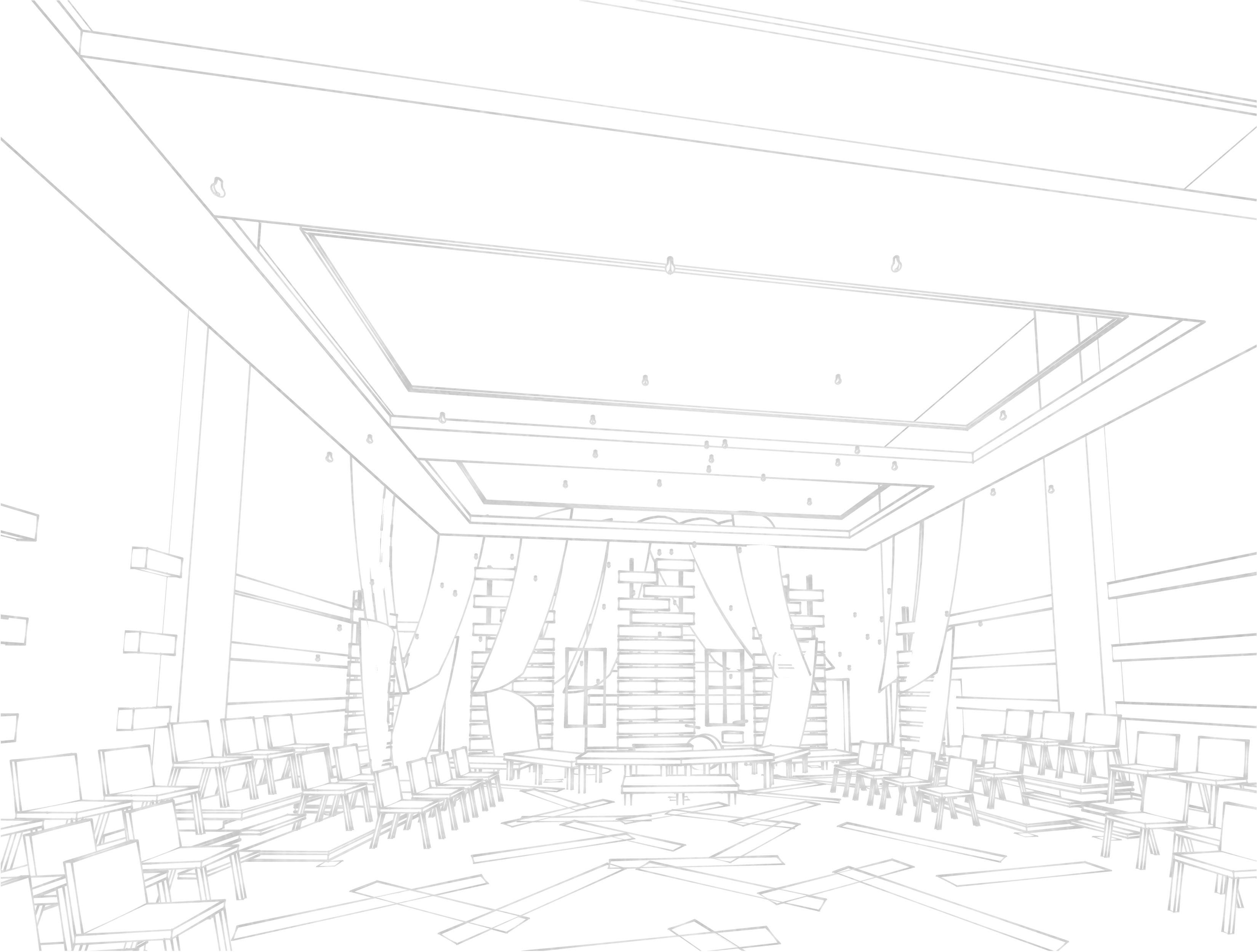 Perspective sketch