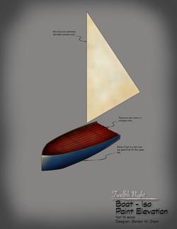 Twelfth Night - Boat Rendering