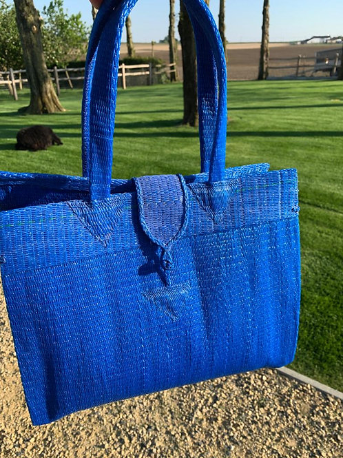 Shopper S blauw