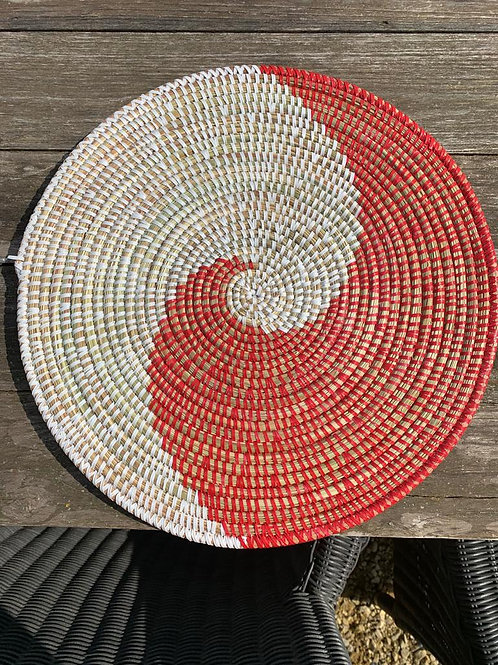Placemat rood-wit