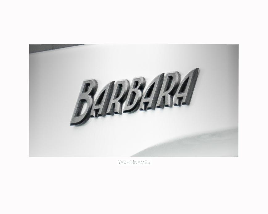 barbara framed