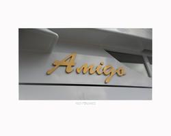Amigo framed