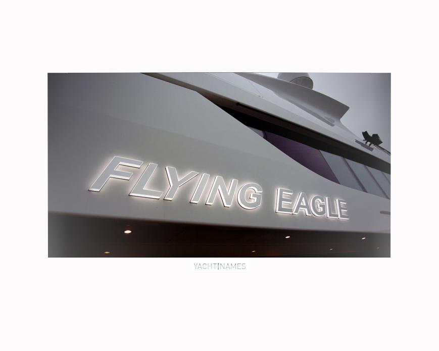 FLYING EAGLE FRAMED