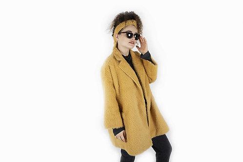 מעיל אקסקלוסיב צהוב