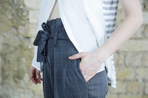 מכנס חגורה קשירה