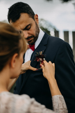 Boutonnière marié