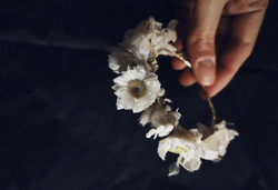 Bracelet fleurs séchées