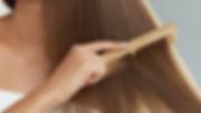 Comb cabelo de madeira
