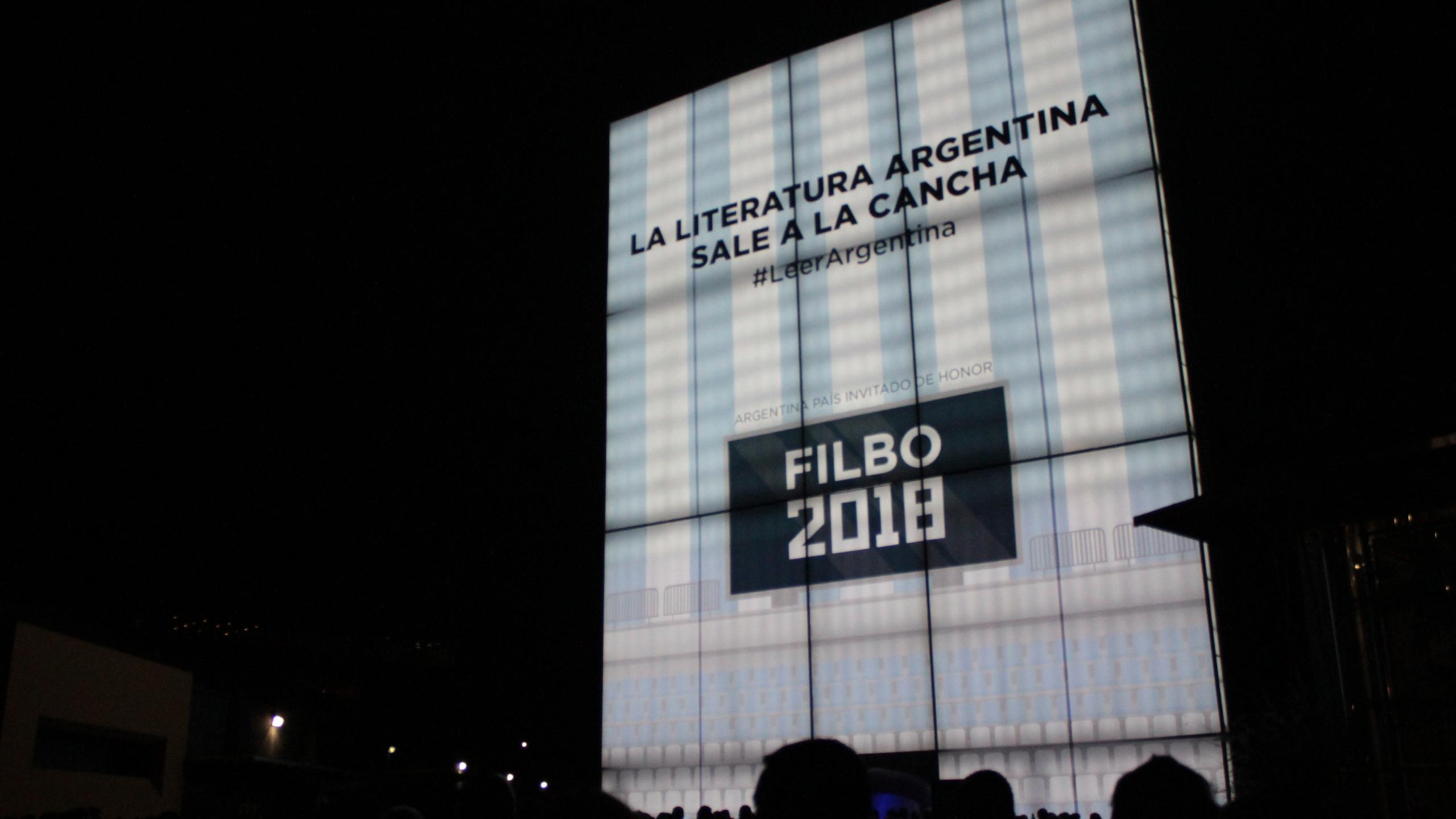 Inauguración de la FilBo 2018