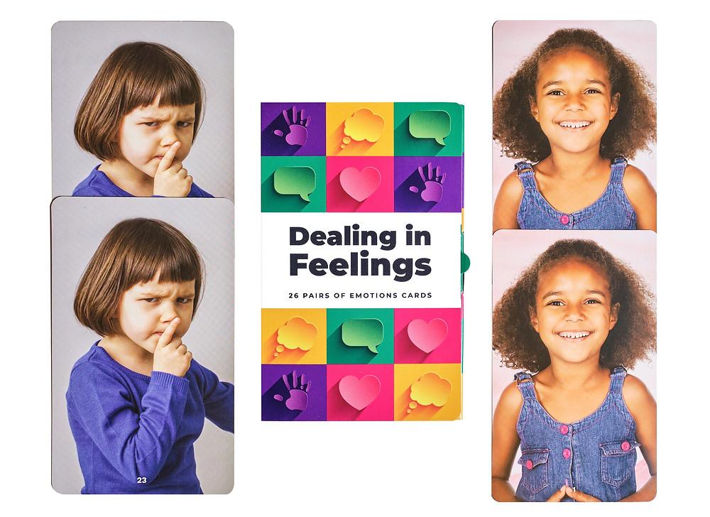 Dealing in Feelings card pairs