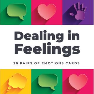 Dealing in Feelings cards