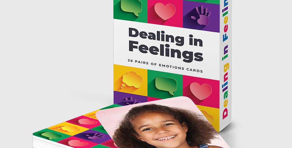 Dealing in Feelings Emotions Cards
