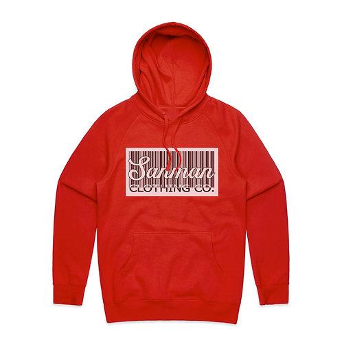 Red  Code Hoodie